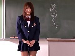 Nippon les teen kissing schoolgirl honey