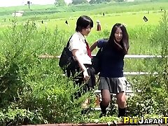 Good-sized thicket japanese pees