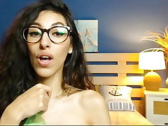 My favorite camgirl - the bottle is your cock