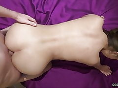 German Youthfull Duo in Inexperienced Porno with Real Female Orgasm