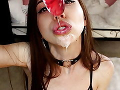 Lilcanadiangirl - Messy Blowjob