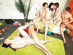 Insane games leading to gang bang-out