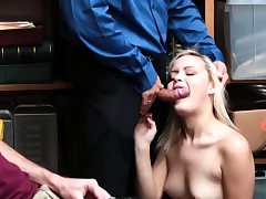 Brief hair blonde babe and mature gloryhole fuck Suspect
