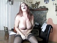 Posh whore in her sexy undergarments finger-banging her wet pussy hole